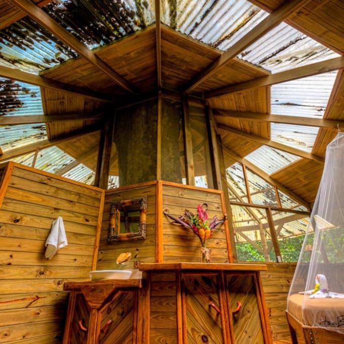 El Castillo Mastate master bedroom