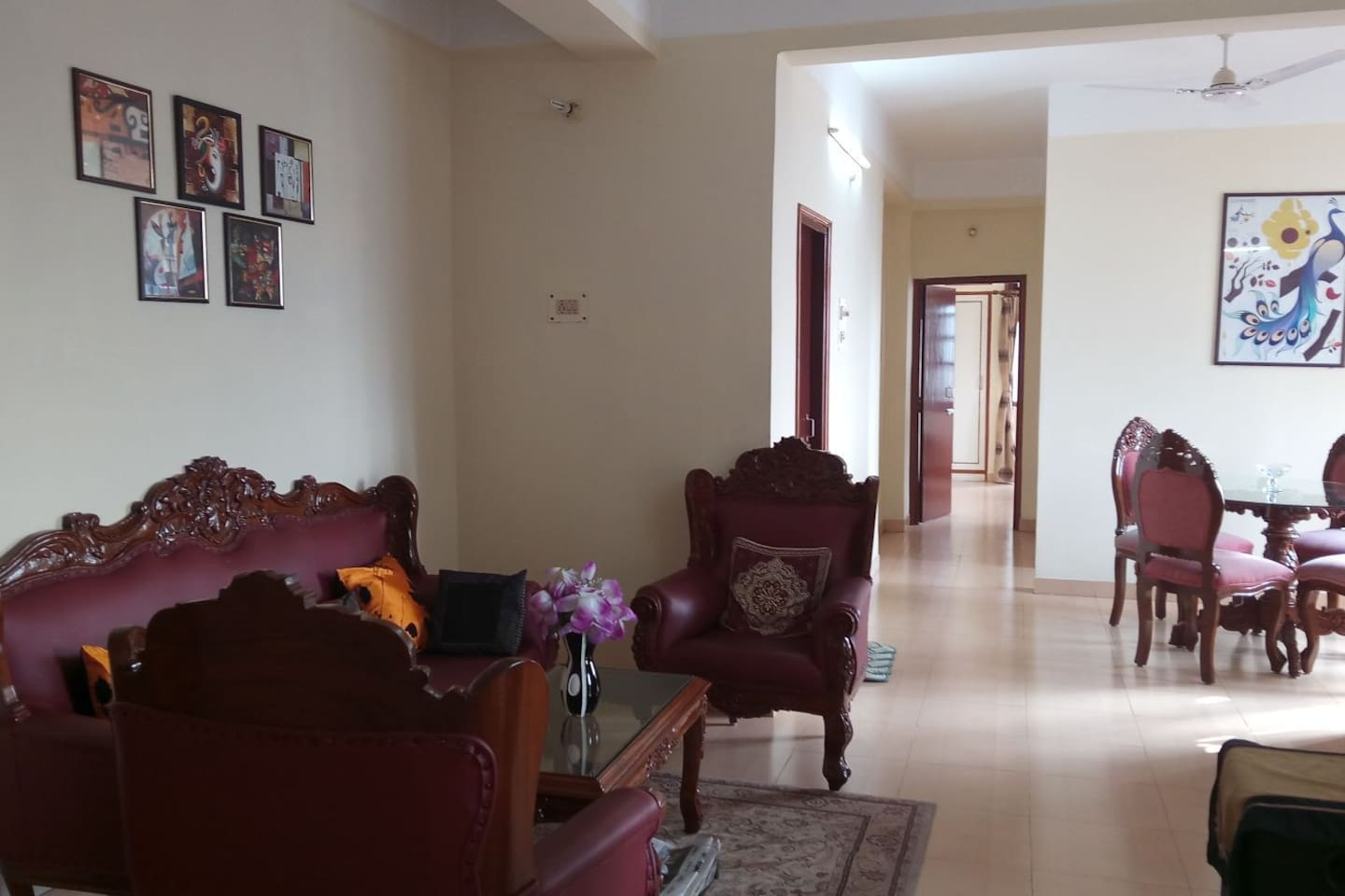 spacious furnished residential 2 bhk