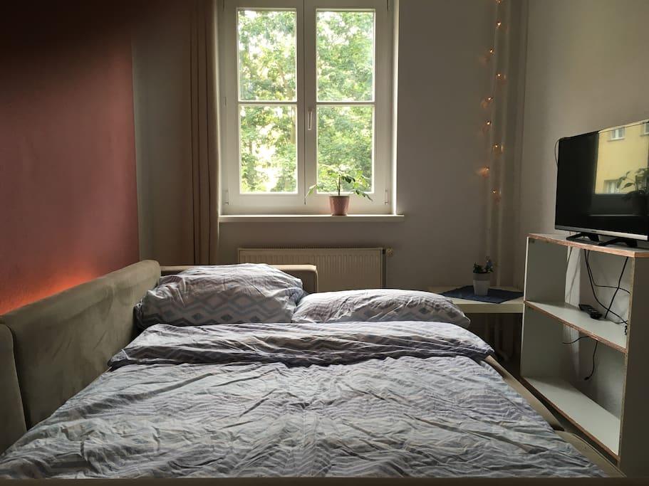 Gemütliches (Doppel-)Bett
