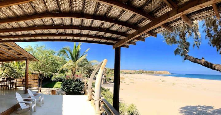 Casa Pacífico - Acogedora casa frente al mar