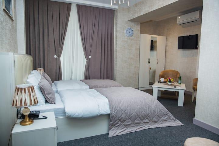 Baku Style Hotel (Twin room_1)