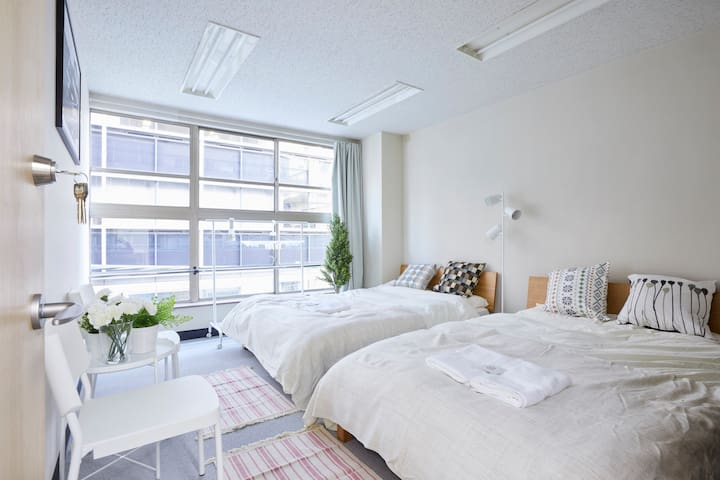 Ueno Akihabara/5min Sta/Luxury 3ldk/Free Wifi #A - Taitō-ku - Byt