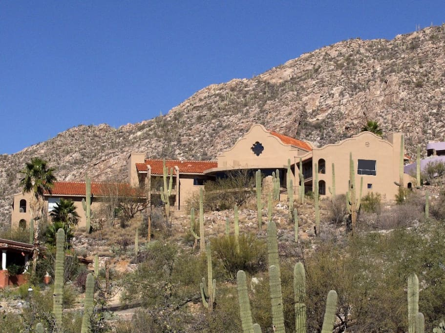 Estate with Catalina Mountains in background