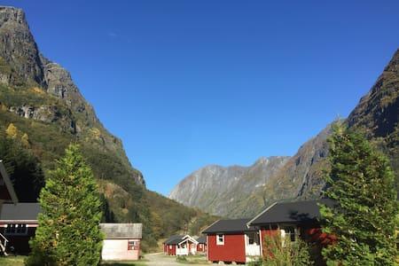 Gudvangen camping cabin 3 stars nr7 - Gudvangen - 방갈로