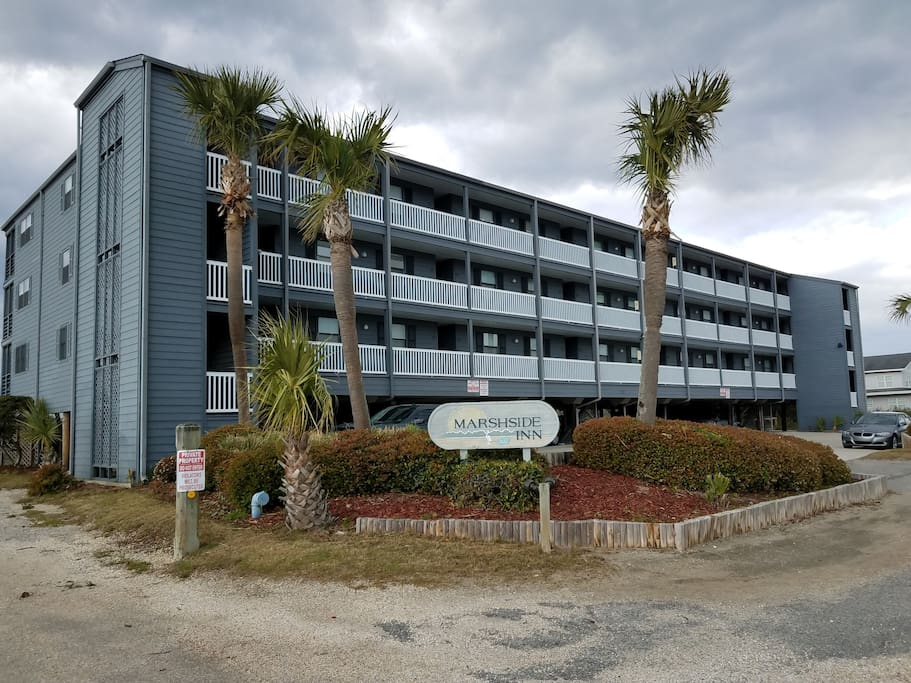 Marsh-view condo in Garden City, professionally managed and maintained by TurnKey Vacation Rentals.