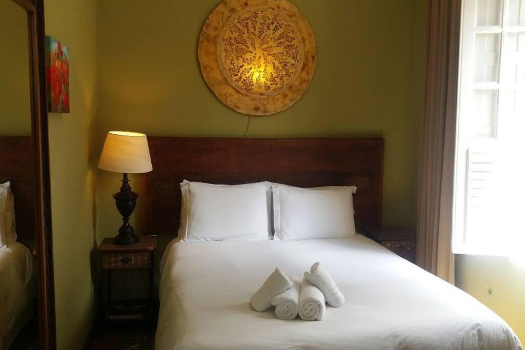 Suite Standart, com cama de casal,tv,frigobar e ventilador