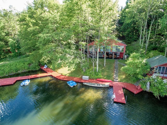 Private Lake Retreat on 30+ acres - Delancey - Chatka