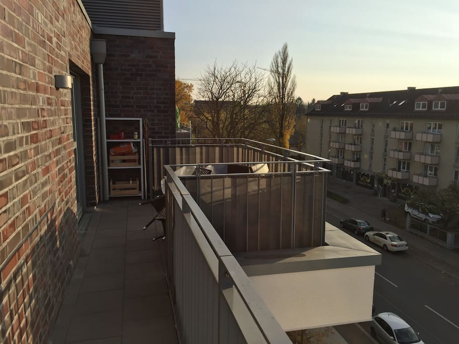 Front Balcony View 1