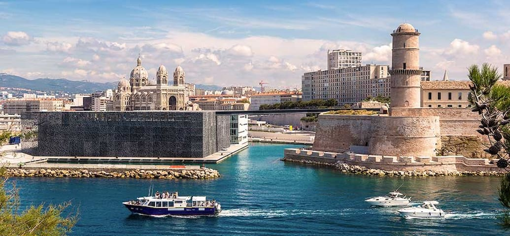 Ma visite de Marseille - My visit to Marseille