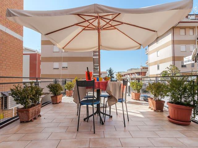 """Home """"ZIROCCO"""" – Huge space & terrific terrace!"""