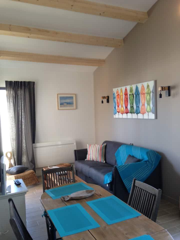 Maison 43 m2 neuve au calme avec jardin et parking