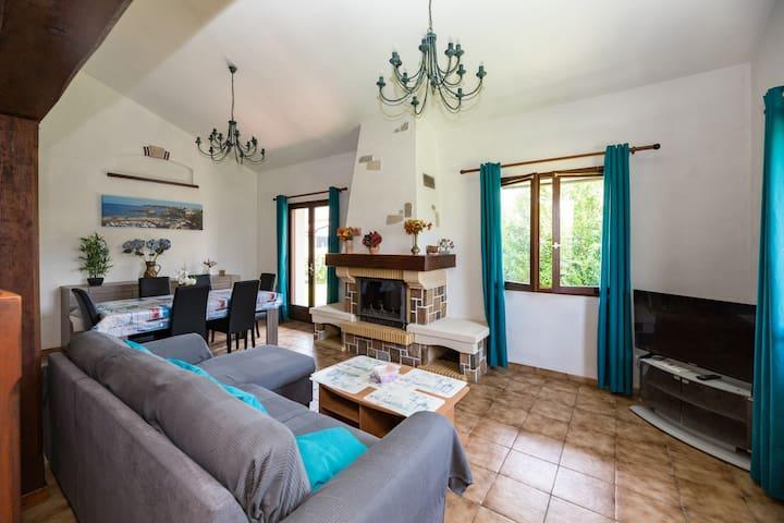 Villa proche des plages avec jardin