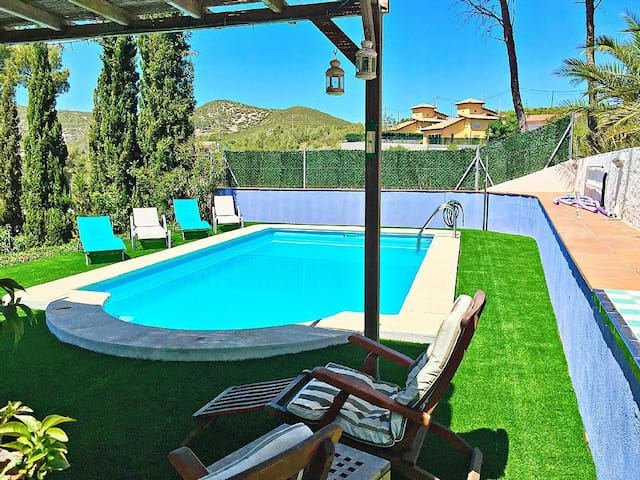Sitges Villa Apartment.  Small Private Apt