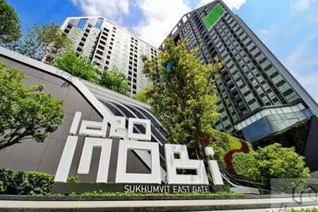 Ideo Mobi Sukhumvit Eastgate walk to BITEC 250m - Banguecoque - Apartamento com serviços incluídos