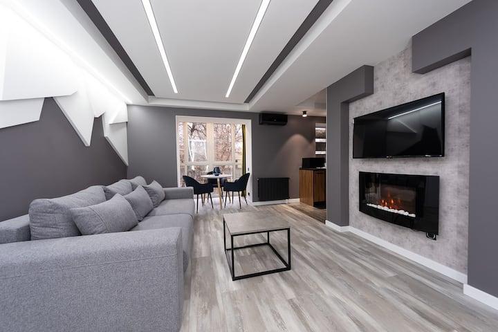 Premium onebedroom Jaccuzi & fireplace (20/22/2)