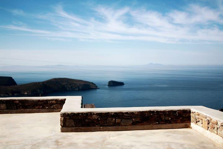 Deep Blue, awesome Aegean sea view villa / House 3