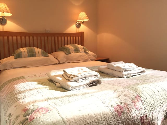 Bedroom Two - King Size Double Bed with Ensuite Shower room