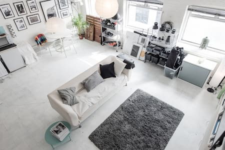 Bright Converted Warehouse Flat - Londyn