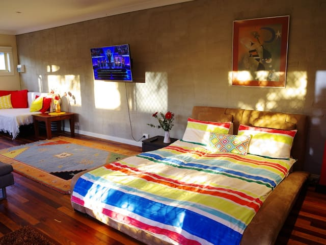 Private Garden Studio, pet friendly - Albury - Casa de huéspedes