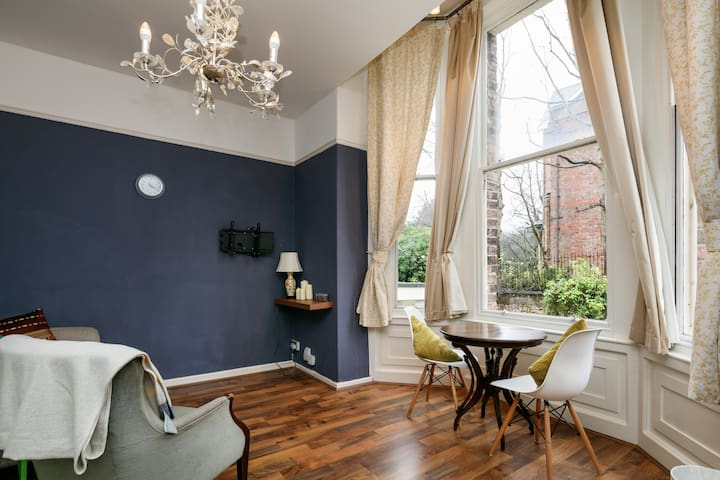 Cute & charactered flat by Sefton Park - Liverpool - Wohnung