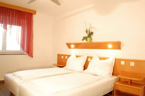 Room in Apartment with 1 - 3 single beds near Linz