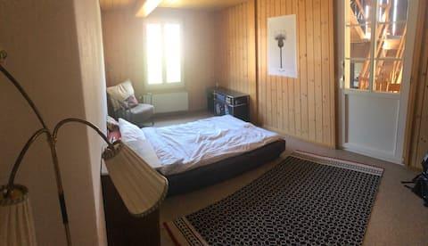Gezellige kamer op het platteland dicht bij Bern