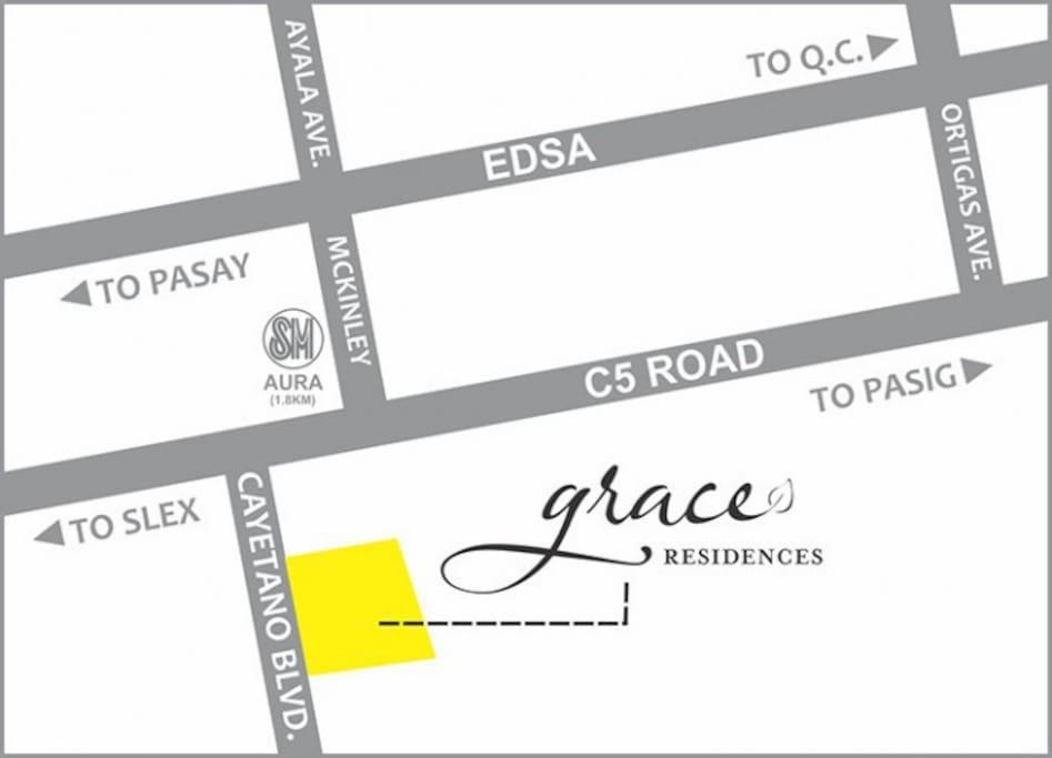 Grace residences location