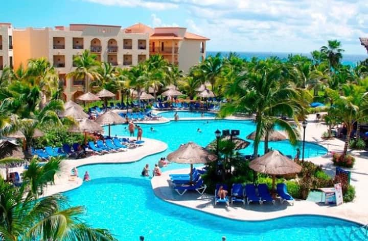 (VIP MEMBER) SANDOS PLAYACAR SPA AND BEACH RESORT!