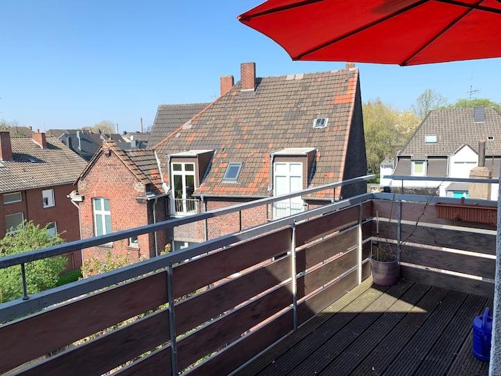 Eigene Wohnung über den Dächern von Herne zentral
