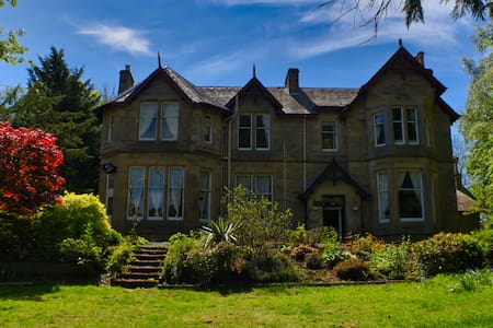Scottish Borders. Elegant relaxing country house.