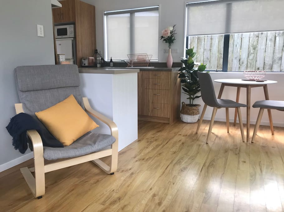 Open living / dining