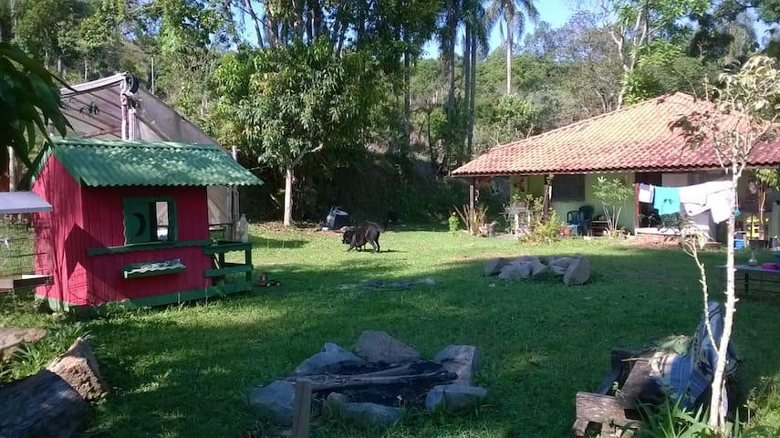 Estadia e vivência no campo - Itapecerica da Serra