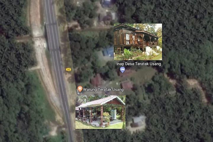 Inap Desa Teratak Usang, Trong, Taiping, Perak