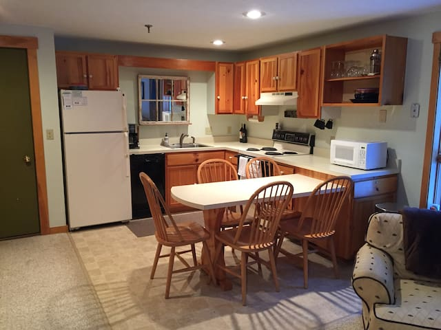 Cozy Ski In, Ski Out Condo - Carrabassett Valley - Selveierleilighet