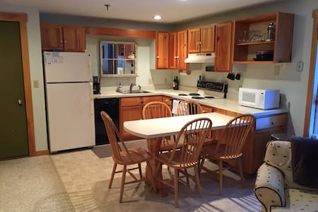 Cozy Ski In, Ski Out Condo - Carrabassett Valley