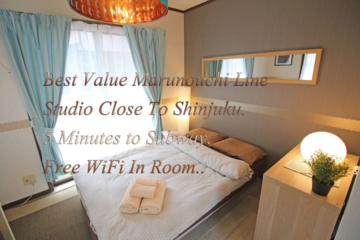 Best Value Marunouchi Line Studio Near To Shinjuku