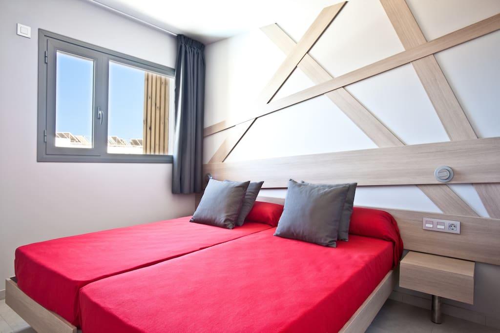 2-bedroom apt.