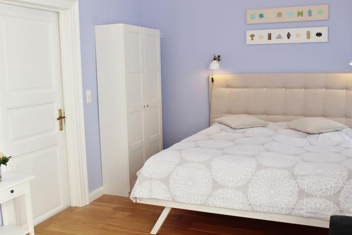 """Schönes Apartment """" Flieder """" zentral"""