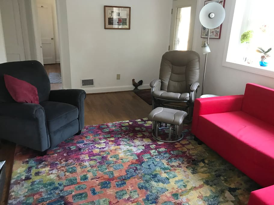 The Living Room with comfortable seating