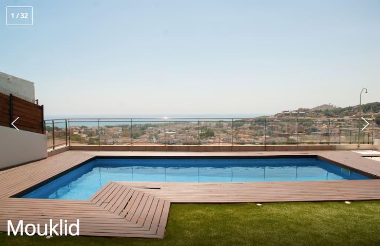 Beach Vila Mouklid Top view