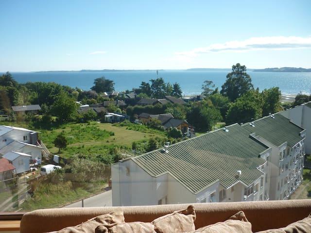 DEPTO. PRECIOSA VISTA AL MAR - Puerto Montt - Apartment