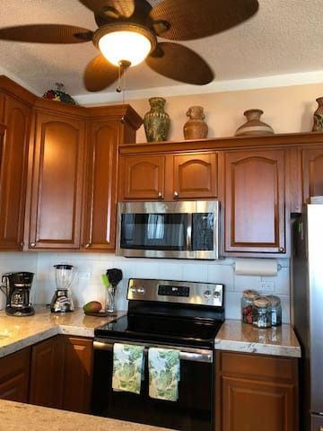 Newly remodeled kitchen with everything you need