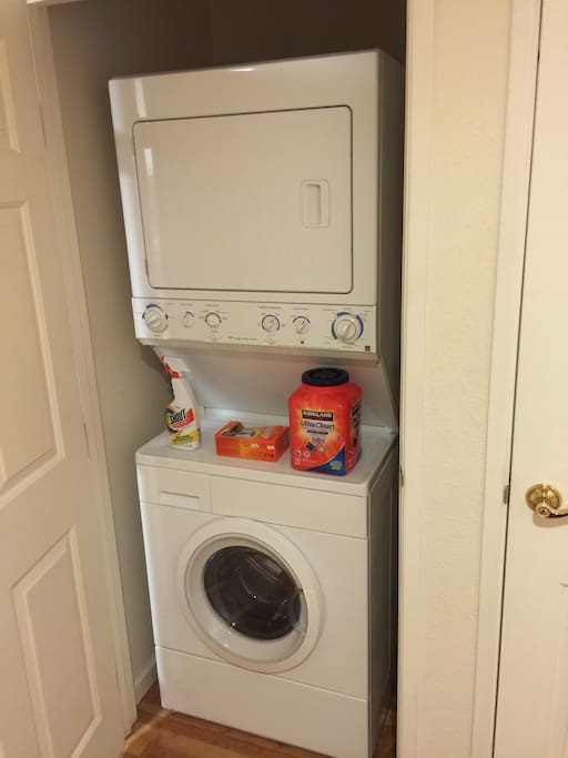 Your own Washer/Dryer right in the unit