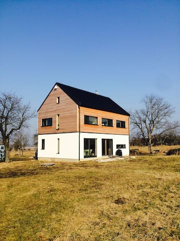 Modern house at the countryside (+half board)