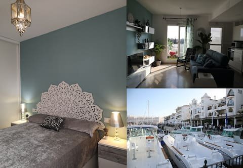 New luxury apartment, 10m. center Seville, parking