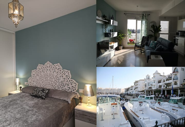 New luxury apartment, 10m. center Seville, parking