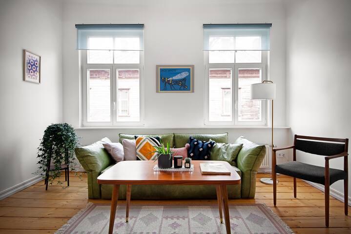 Unique apartment in renovated historical building