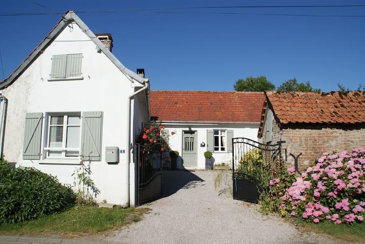 """Le jardin des gourmandises  chambre """"Brise Marine"""""""