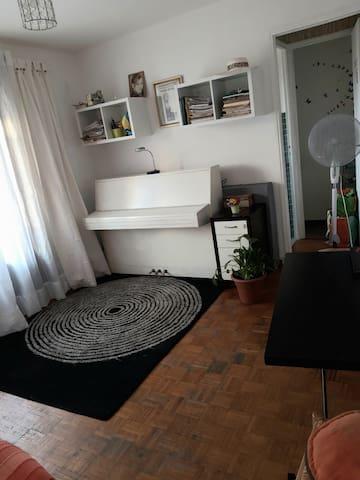 Appartement T1 30 m2 au calme situé a la Blancarde