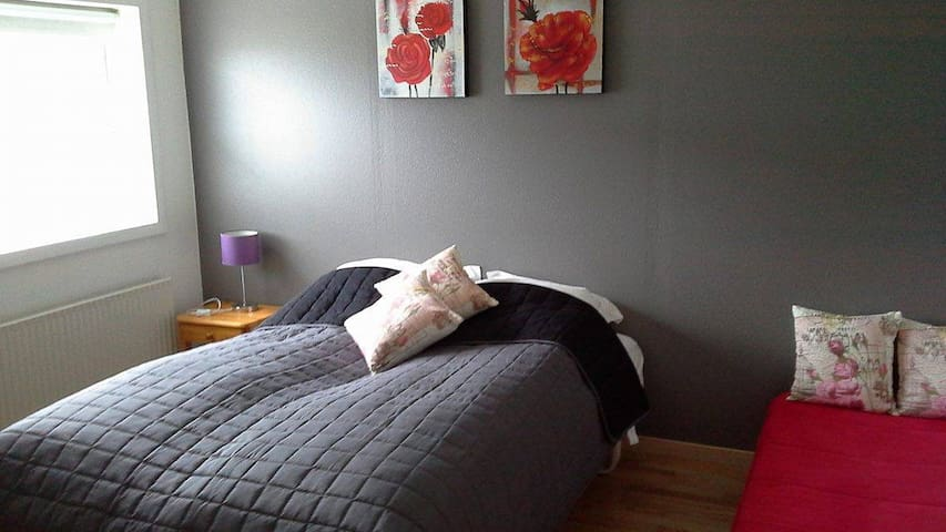 Lejlighed i natursmukke omgivelser. - Miðvágur - Apartment